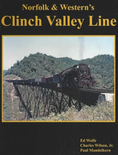 Norfolk Western Southern Clinch Valley NW Va Virginia book
