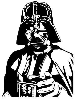 Star Wars Darth Vader Car Decal / Sticker
