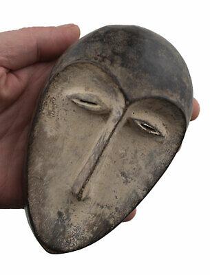 Mask African Masquette Kwele Gabon 14.5cm Miniature Art First 16908