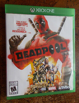 Deadpool (Microsoft Xbox One, 2015) CIB Complete NTSC