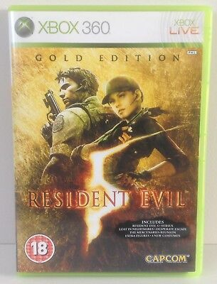 XBOX 360 Resident Evil 5 *** Gold Edition *** COMPLETE *** XBOX360 PAL 2