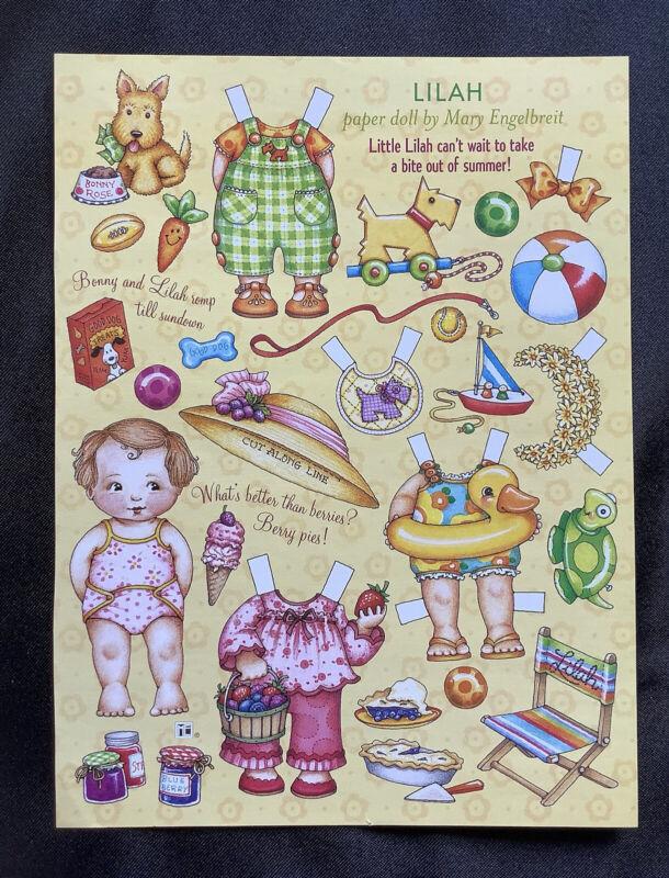 MARY ENGELBREIT Mag. Paper Doll, Ann Estelle