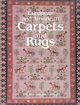 European American Antique Carpets Rugs - Types Makers / In-Depth Illustratd Book