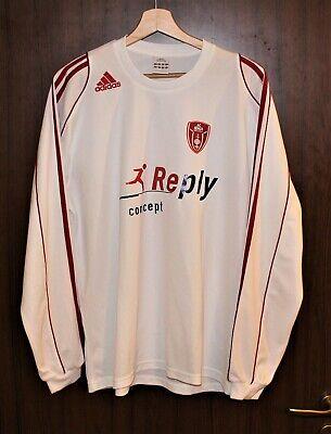 MATCH WORN U19 #3 AC MONZA 2009 Football SHIRT Jersey size L ADIDAS Tricot ITALY image