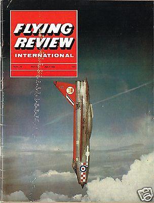 FLYING REVIEW INT JULY 64: STARFIGHTER/ SAAB DRAKEN/ NORTHROP F5/ LIGHTNING/VC10