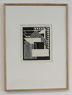 Jozef Peeters, gerahmt,  Belgien 1925, de Stijl, Bauhaus, Michel Seuphor, TOP !