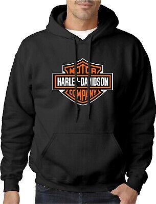 Harley Davidson Hoodie Hoody Motorcycle Motorbike Sportster Fat Boy Street Rod