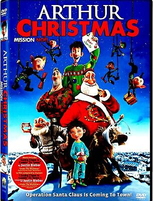NEW DVD- ARTHUR CHRISTMAS - James McAvoy, Hugh Laurie, Bill Nighy, Jim Broadbent ()