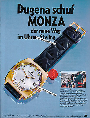 Dugena-Monza-1968-Reklame-Werbung-genuine Advertising-nl-Versandhandel