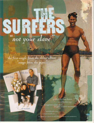 The Surfers 1998 Ad- Not Your Slave Advertisement