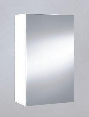 Armario con espejo, cuarto de baño o aseo, para colgar blanco 40x65x21cm