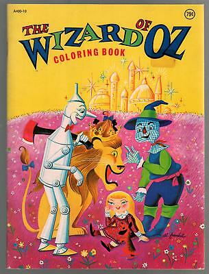Wizard of Oz Coloring Book #A400-10 1978-Playmore-FN