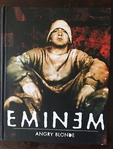 Eminem Angry Blonde Hardcover Book