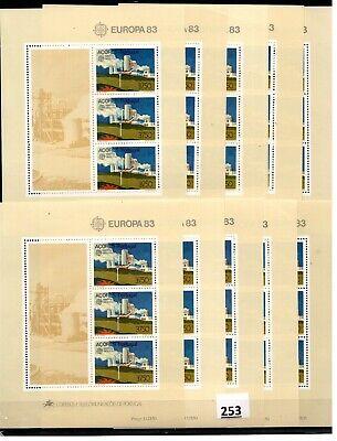 # 10X PORTUGAL - MNH - EUROPA CEPT 1983 - ARCHITECTURE - WHOLESALE