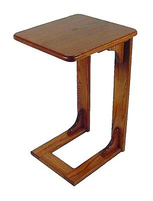 Amish Furniture - Oak over the Arm Sofa Table - Living Room - Made in USA for sale  Home