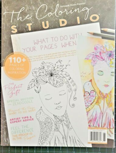 Somerset Studios: The Coloring Studio - An Artistic Coloring Adventure - 1st ed.