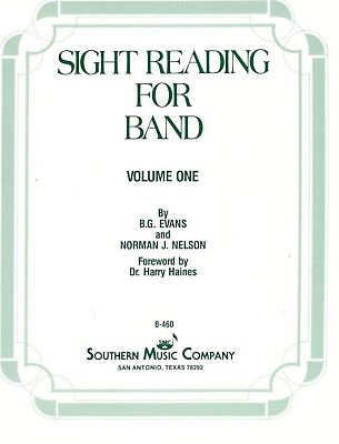 1st Trombone Music Book (SIGHT READING FOR BAND VOLUME ONE FOR 1ST TROMBONE MUSIC BOOK-BRAND NEW ON SALE )