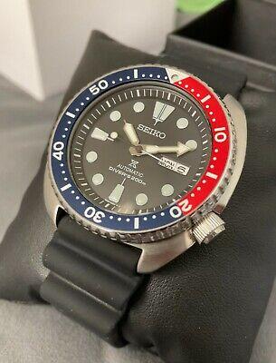 Seiko Men's 'Pepsi Turtle' Automatic Watch – SRP779K1