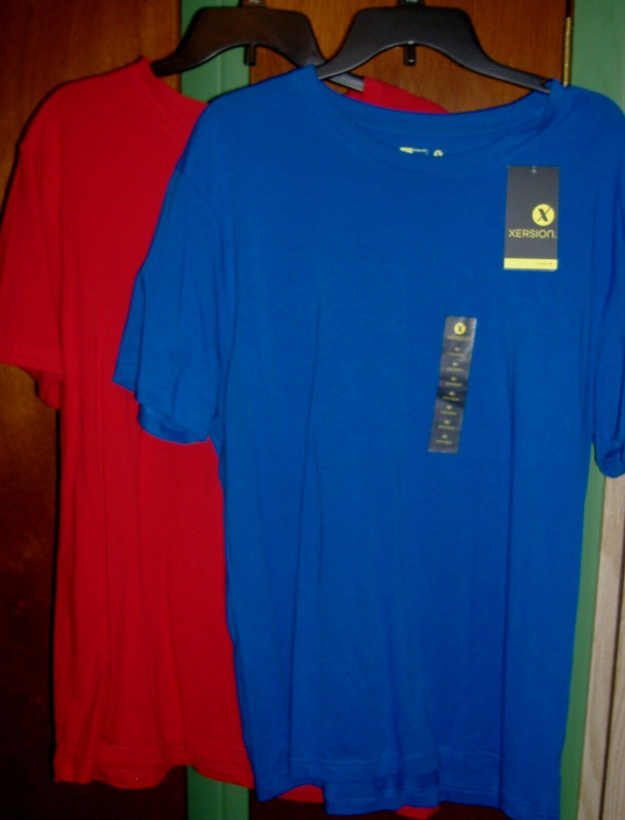 TWO Xersion XL Wicking Performance Sport Shirts - NEW  - $19.99
