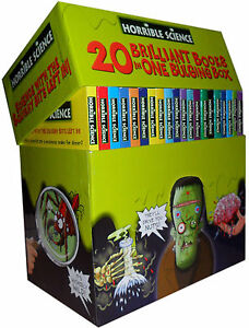 Horrible Science Histories Collection 20 Bulging Books Brand New Box Set