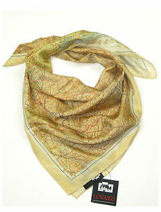 Escape Map Silk Scarf WW2 World War 2 Official IWM military memorabilia