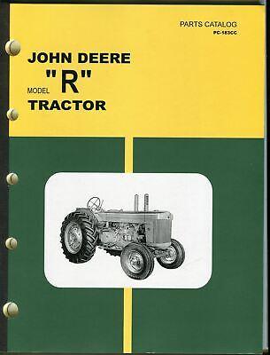 Vintage John Deere Model R Tractor Dealer Parts Catalog Pc-183cc