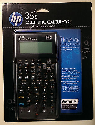 Hewlett Packard HP-35S RPN Scientific Calculator HP35S