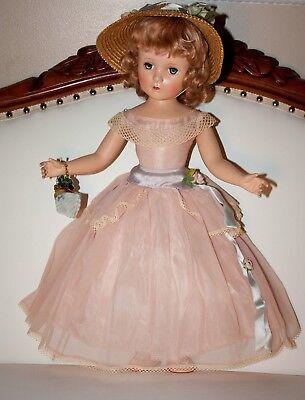 "21"" Gorgeous Vintage Madame Alexander Margaret Rose with wrist tag"