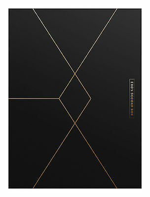 Exo  Exo S Second Box  4Dvd  Sealed K Pop