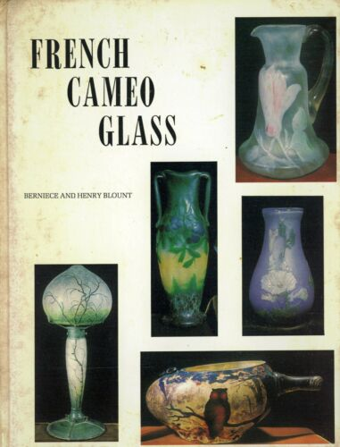 French Cameo Glass + Signatures - Daum Galle Muller / Scarce Book (HEAVY FOXING)