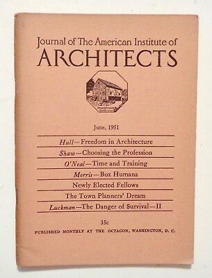 1951 Jun JOURNAL AMERICAN INSTITUTE of ARCHITECTS Freedom in