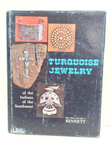 Turquoise Jewelry of Indians of Southwest, Bennett 1974 HB with Printing Mistake