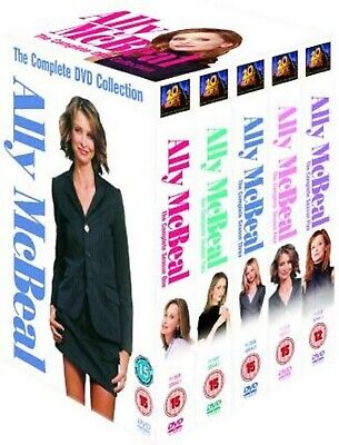 ALLY MCBEAL COMPLETE SERIES 1-5 DVD Season 1 2 3 4 5...
