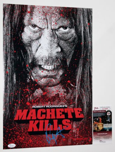 DANNY TREJO SIGNED 12x18 MACHETE KILLS MOVIE PHOTO POSTER AUTOGRAPHED +JSA COA