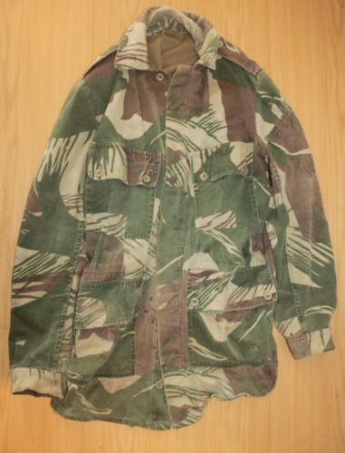 Rare Original Rhodesian Large Camo Camouflage Jacket