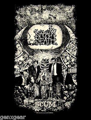 NAPALM DEATH cd cvr SCUM Official SHIRT Size XXL 2X new