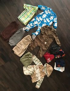 Size 9 Month Boys Clothing Lot
