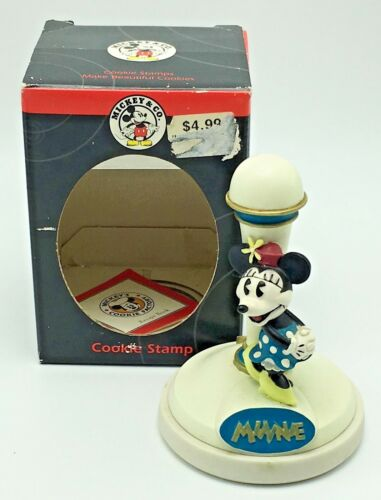 Disney Minnie Mouse Collectible Ceramic Cookie Stamp Press Mickey & Co.