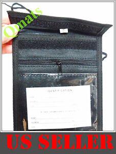 NEW-ID-Badge-Press-Pass-Passport-Holder-Neck-Strap-Organizer-Pouch-Wholesale