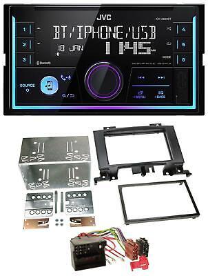 JVC AUX 2DIN USB MP3 Bluetooth Autoradio für Mercedes Sprinter ab 06 W906 schwar