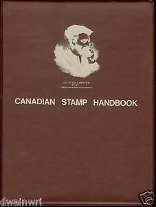 Canadian-Stamp-Handbooks-Binder-Maroon-by-Michael-Milos