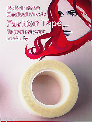 Double Sided Fashion Body Tape Modesty Toupee Wig Dress Secret Clear Hollywood