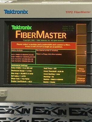 Tektronix Tfp2a Fibermaster Optical Time Domain Reflectometer Otdr Manualcover