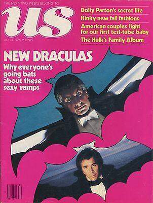 Us Magazine July 24  1979 7 24 79 New Draculas Dolly Parton C 3 3