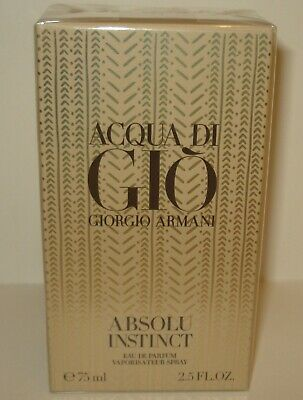 Giorgio Armani Acqua Di Gio Absolu Instinct Eau De Parfum  75ml/2.5oz Sealed