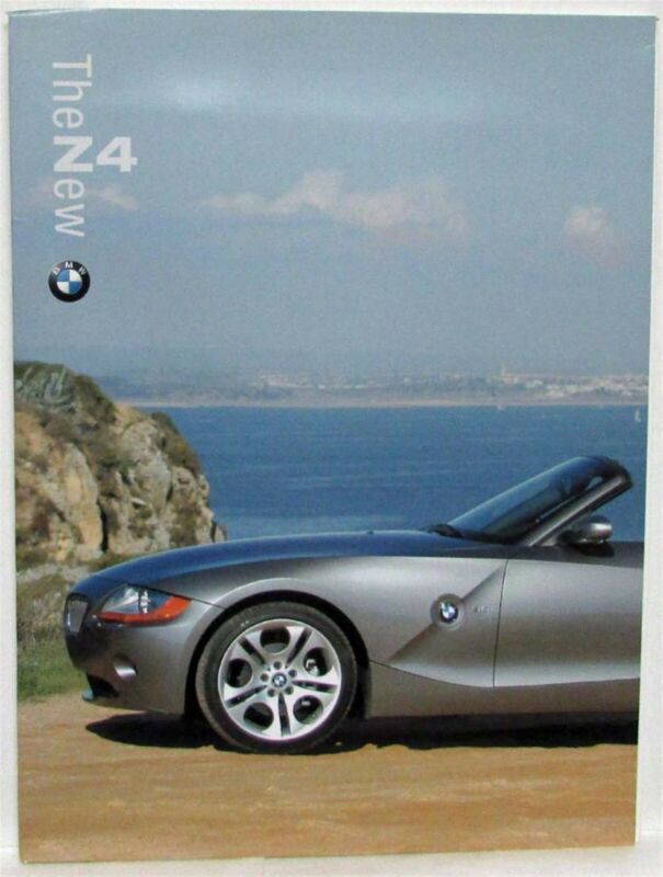 2003 BMW Z4 Press Kit