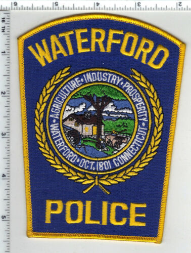 Waterford Police (Connecticut) Shoulder Patch - new from the 1980