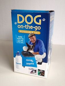 COLLAPSIBLE DOG BOWL & WATER BOTTLE South Perth South Perth Area Preview