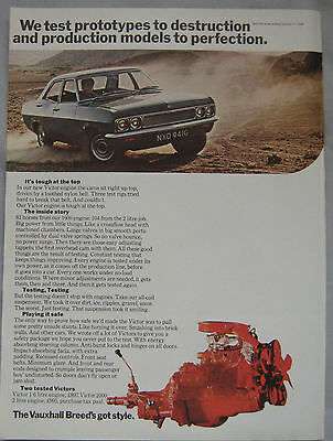 1968 Vauxhall Victor Original advert No.2