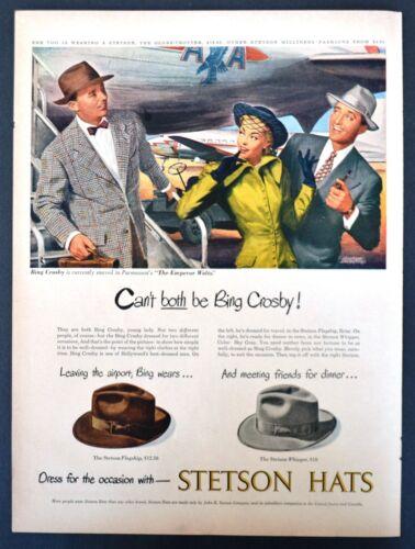 Vintage 1948 STETSON MEN